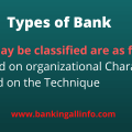 Bank types