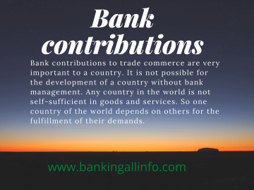 Bank contributions images