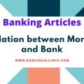 Relation between Money and Bank