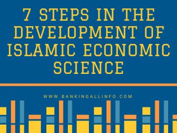7 Steps in the Development of Islamic Economic Science