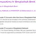 Reporting of transactions to Bangladesh Bank