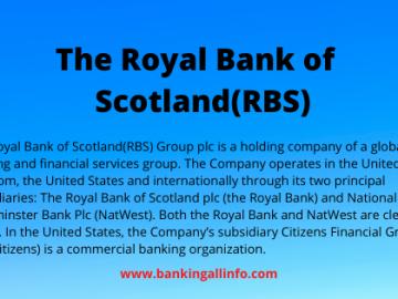 The Royal Bank of Scotland(RBS)