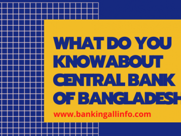 What do you know about central bank of Bangladesh