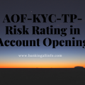 AOF-KYC-TP- Risk Rating in Account Opening