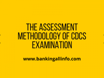 The assessment methodology of CDCS Examination