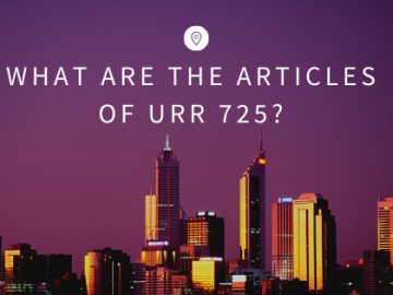 What are the Articles of URR 725