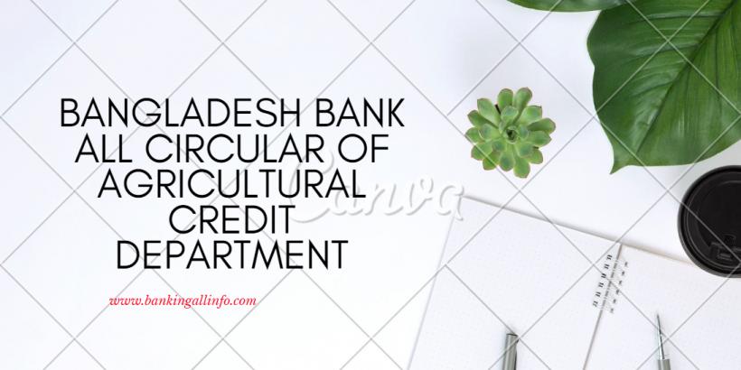 BD bank Agri Circular