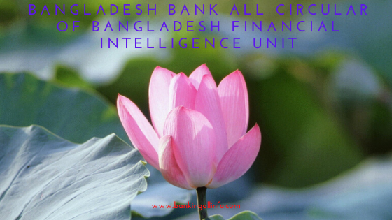 Bangladesh Bank all Circular of Bangladesh Financial Intelligence Unit