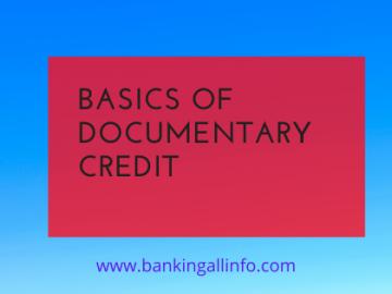 Basics of Documentary Credit