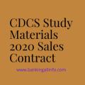 CDCS Study Materials 2020 Sales Contract