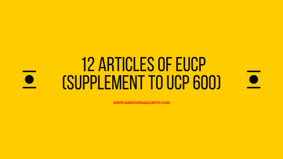 12 articles of eUCP (Supplement to UCP 600)