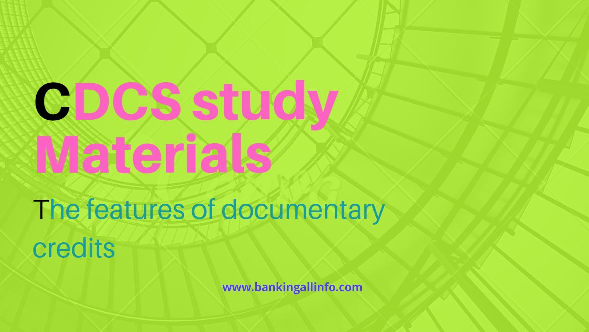 CDCS Study material