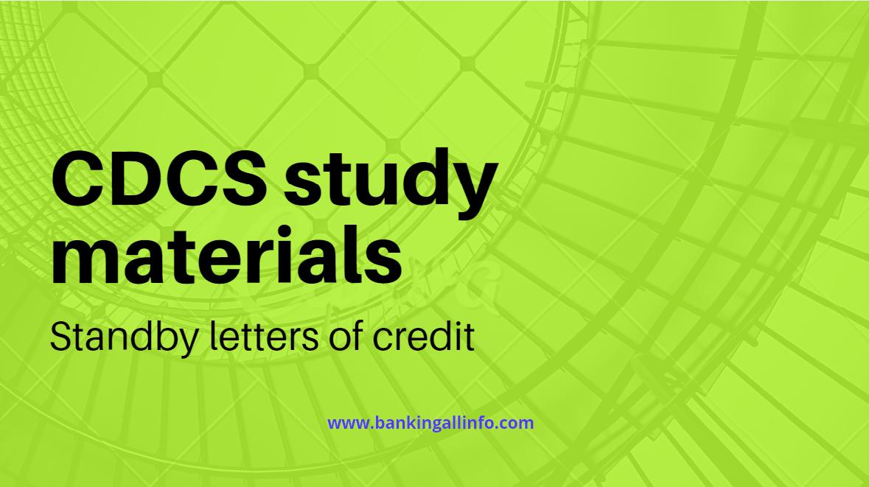 CDCS Study materials