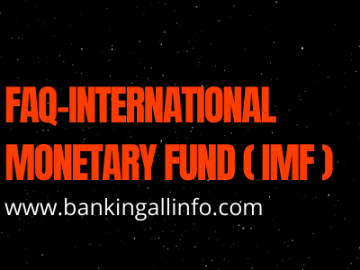 FAQ-International Monetary Fund (IMF)