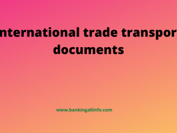 International trade transport documents