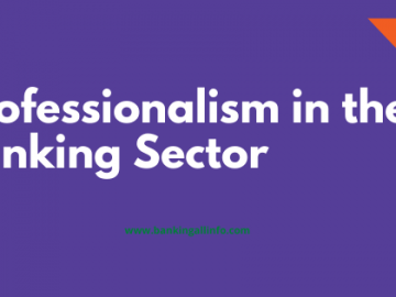 Professionalism in the Banking Sector