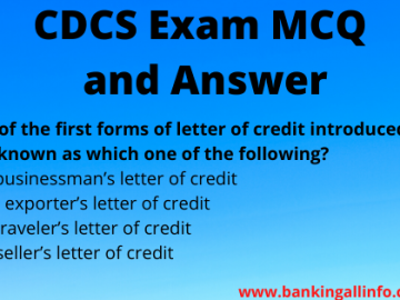 CDCS Exam MCQ and Answer