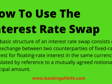 How to use the interest rate swap