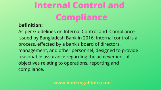 Internal Control and Compliance
