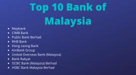 Top 10 Bank of Malaysia