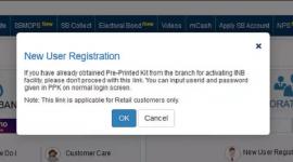 SBI Net Banking register Step-2