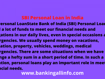 SBI Personal Loan in India